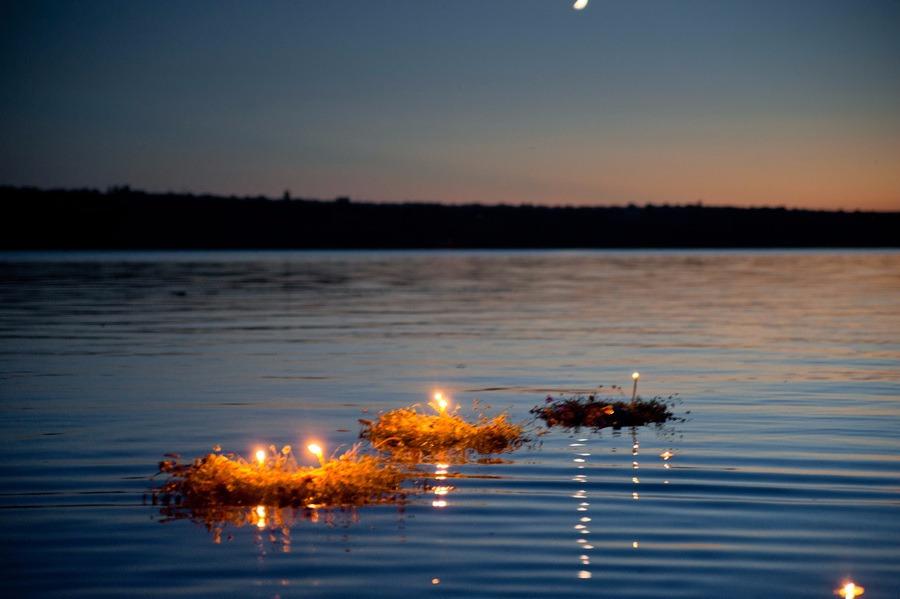 Ритуал с Купальским венком - Тридевятое Царство