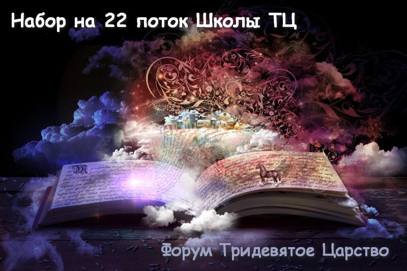Набор на 22 поток Школы ТЦ - Тридевятое Царство
