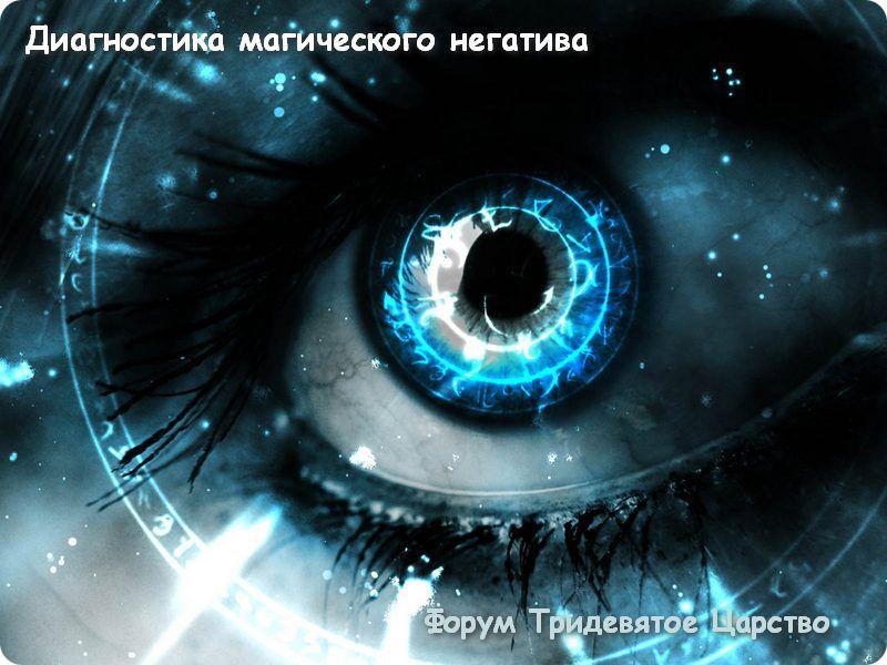 Полная диагностика магического негатива и сфер жизни