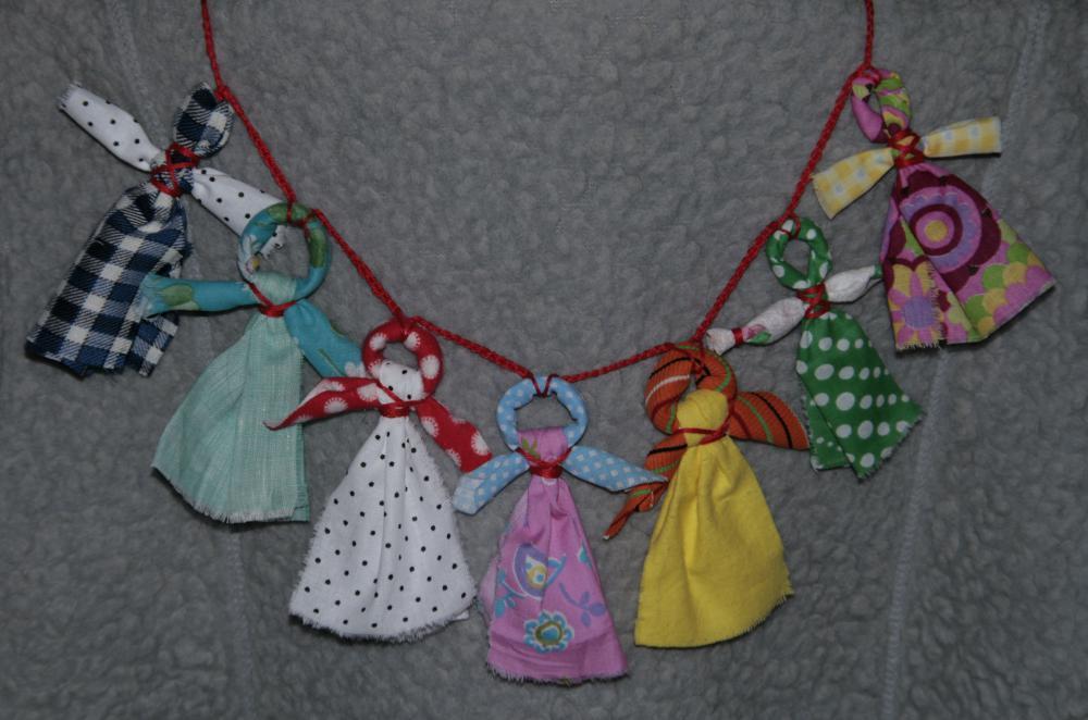 Обережная куколка Кувадка для маленького ребенка. - Тридевятое Царство