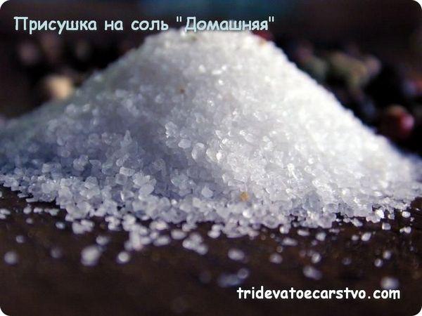 Легкая присушка  на соль Домашняя