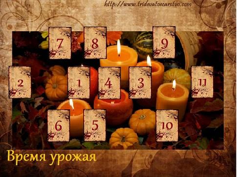 Расклад Время урожая - Тридевятое Царство