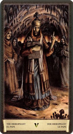 Таро Черный Гримуар (Dark Grimoire Tarot) - Тридевятое Царство